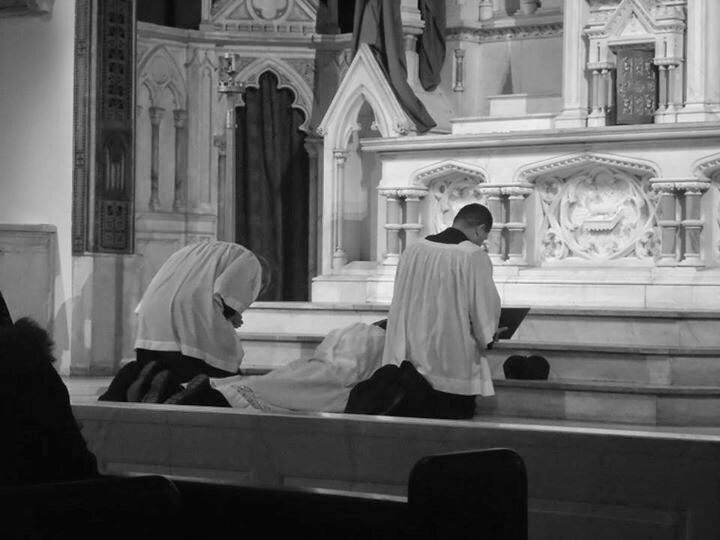 Prostration at Altar