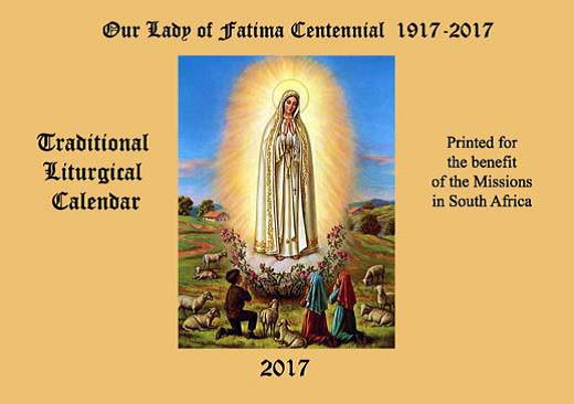 Our Lady of Fatima Calendar
