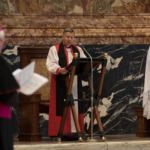 Anglicans profane St. Peter's Basilica with heretical prayer service